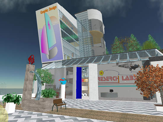 Virtual world lab